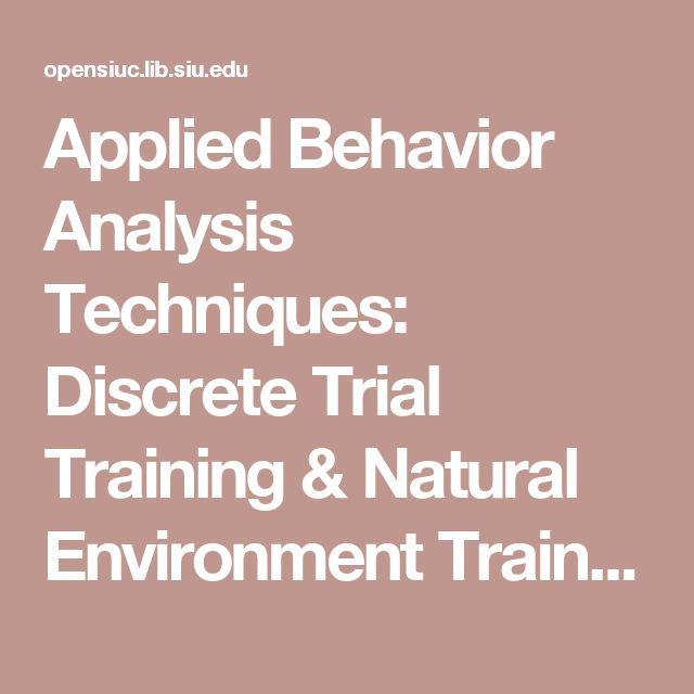 applied behavior analysis You've come to the right place if you want to learn about aba complex terms are broken down to make them easy to understand and remember.
