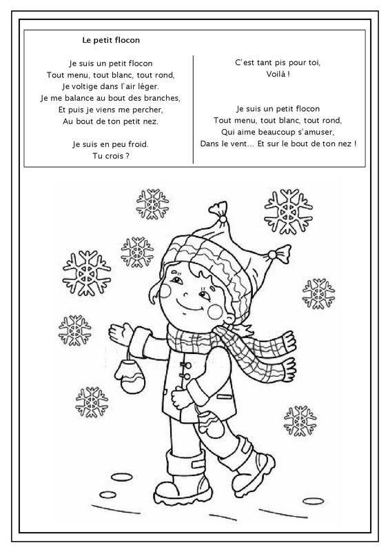 Les 25 meilleures images du tableau hiver sur pinterest coloriages hiver et jardinage - Dessin sur l hiver ...
