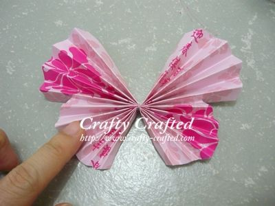 Easy Crafts for Adults | Butterfly « Insect Crafts « Categories « Crafty-Crafted.com