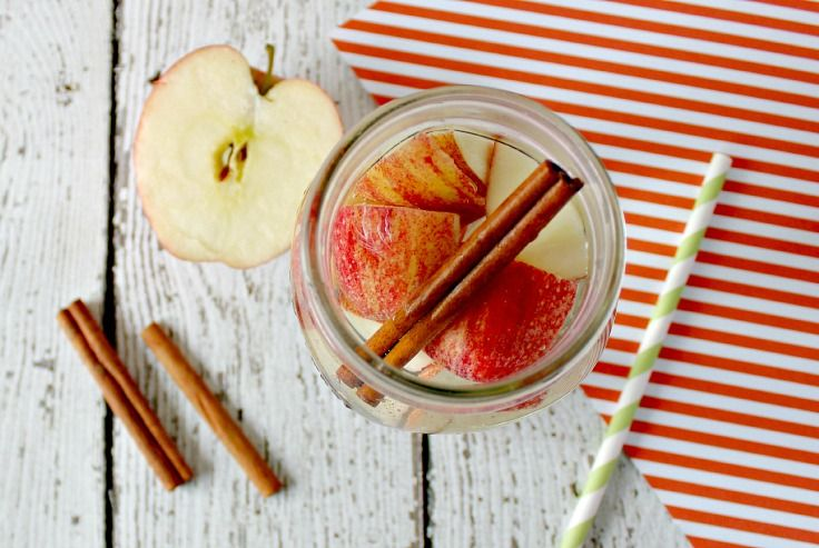 If you're looking for detox water recipes with apples, try this delicious Apple Cinnamon Detox Water today. It's loaded with antioxidants.