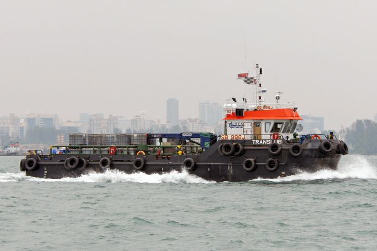 """Translub"" Lube Oil Tanker designed by GB Marine. Photo by Martin Klingsick from ShipSpotting.com."