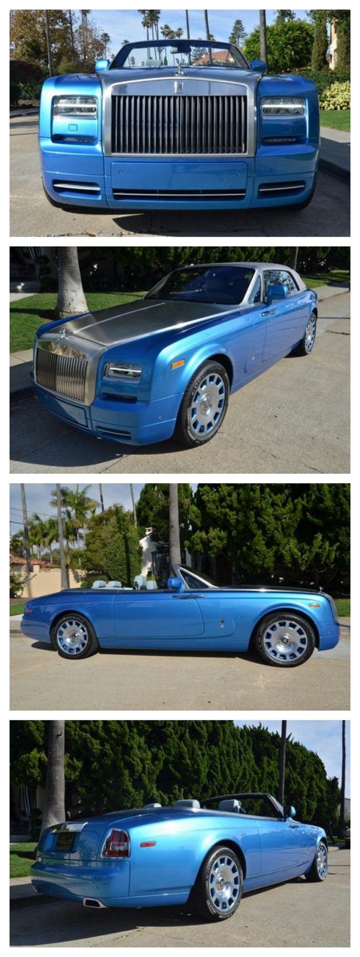Luxurious Rolls Royce Phantom Waterspeed Edition #DreamCars