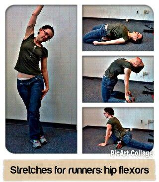 Hip flexor, itb, tfl stretches