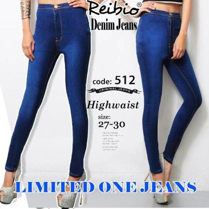 jeans wanita HIGH WAIST (HW)  / celana jeans