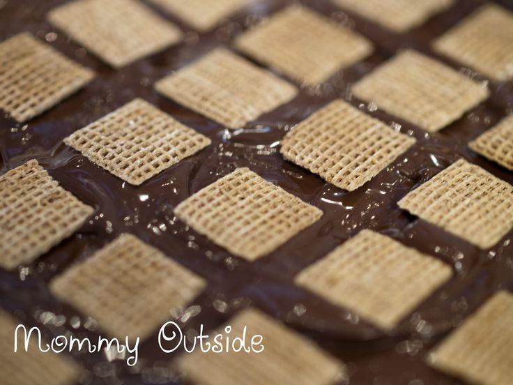 Shreddies Peanut Butter Squares