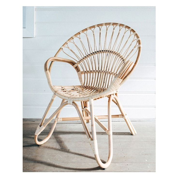 555 Likes, 35 Comments - Cool Modern Vintage Rattan (@aufaitliving) Full Moon Occasional Chair