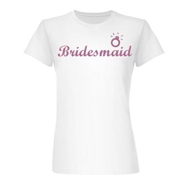 Bridesmaids Customized Tshirts!