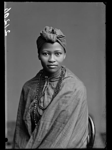 Discovered … Member of the African Choir, London Stereoscopic Company, 1891. Photograph: Courtesy of © Hulton Archive/Getty Images