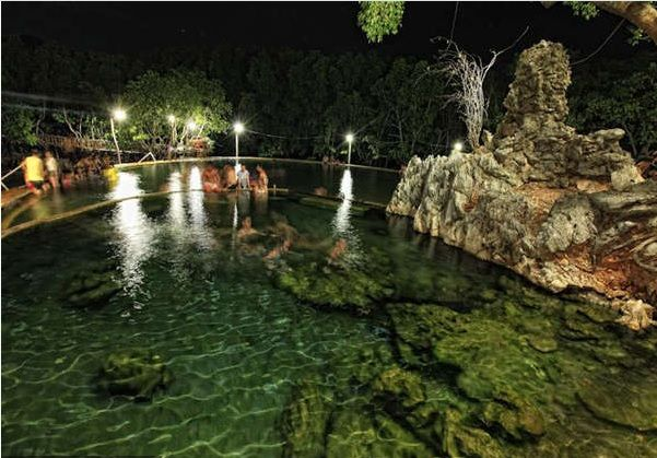 Why coron, palawan was voted the mostbeautiful island in the world for 2 consecutive years. maquinit-hot-springs