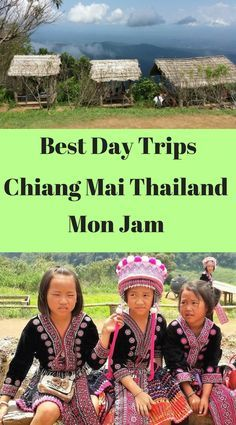 Best Day Trips from Chiang Mai. Day trips to Mon Jam. Day trips to Mon Cham. #monjam #moncham #maerim
