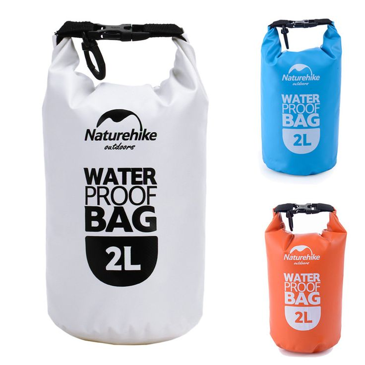2L 높은 품질의 초경량 휴대용 방수 가방 야외 여행 표류 래프팅 카누 수영 캠핑 하이킹 드라이 가방 파우치