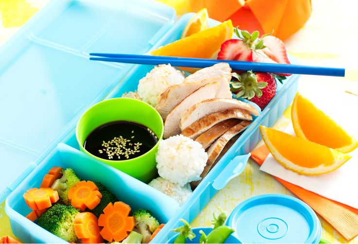 Japanese bento boxes are like normal boxed lunches, but healthier and much more interesting. Try this teriyaki bento and make your coworkers jealous!