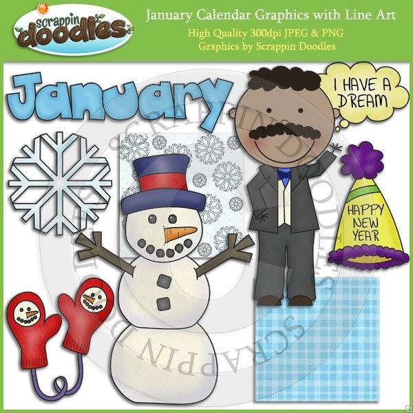 Clip Art Calendar January : Best images about behavior log clip art on pinterest