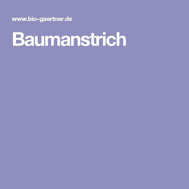 Baumanstrich