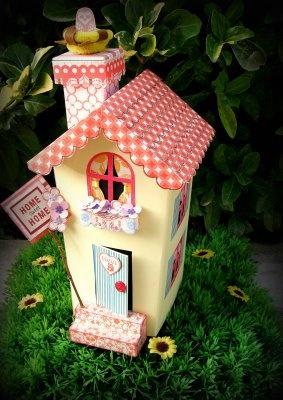 Chipboard House della Doodlebug Design