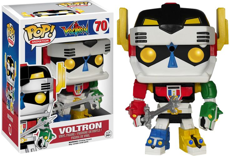 Voltron - Voltron Pop! Vinyl Figure The giant super robot known as Voltron has joined the Pop! Vinyl universe. The five lions have joined together and are ready to defend the universe, one Pop! Vinyl collection at a time.  Add one to your collection today. Brought to you by Popcultcha - Australia's largest and most comprehensive Pop! Vinyl Online Store. Click here to see our full range of Pop! Vinyl collectables.