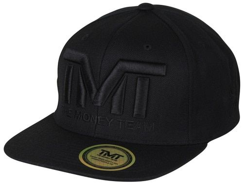 The Money Team TMT Floyd Mayweather Courtside Snapback Hat (All Black)