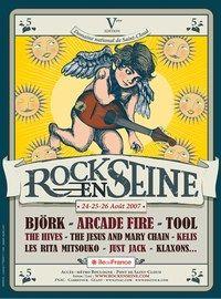 Rock en Seine 2007, à Saint-Cloud - Festivals été 2007, en France - Un festival musical digne de ce nom ! Et en 2007, la manifestation, après le gigantesque succès de l'an dernier, s'allonge d'une journée. Un rendez-vous immanquable de la fin d'été...