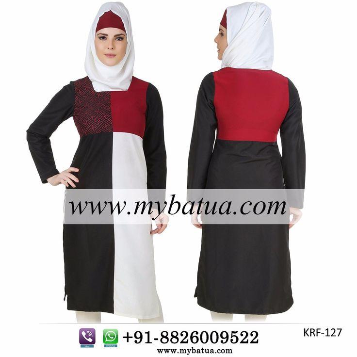 Buy Namyla Embroidered Kashibo Tunic Online | MyBatua  Available in sizes XS to 7XL   Buy Link: http://bit.ly/2mnVT3i Whatsapp: +91-8826009522 (#worldwide #shipping)    #hijab #muslimtunic #islamictunic #muslimclothing #islamicclothing #muslimshop #islamicshop #hijabonline #shaylaonline #islamicshop #mybatua
