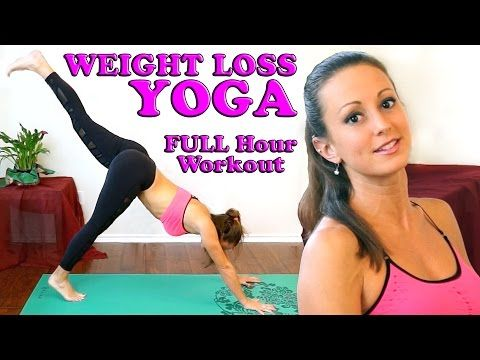 Weight Loss Yoga For Beginners. Full Body At Home 1 Hour Workout & Yoga Class - YouTube