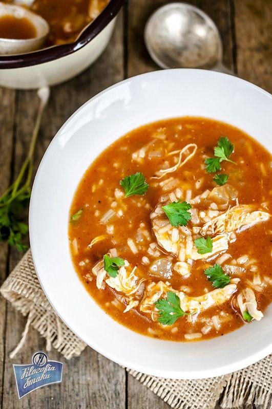 Zupa z kurczakiem i ryżem przepis
