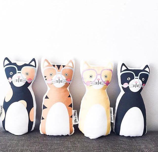 Kitty Cat Pillows