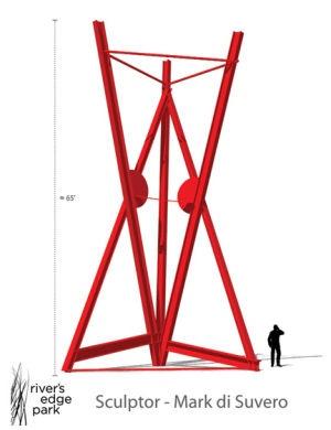 River's Edge Park sculpture plans