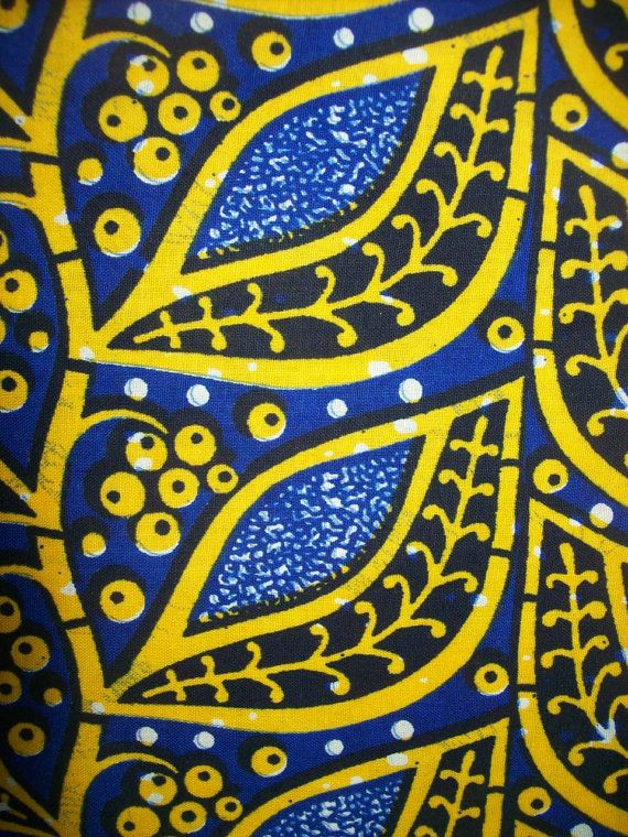 African Fabric Wax Print