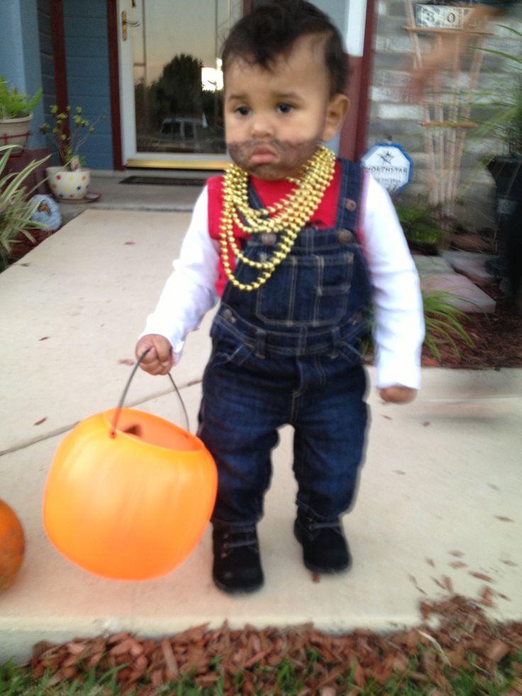 Mr T Costume Baby