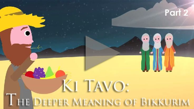 Ki Tavo Answer: The Deeper Meaning of Bikkurim