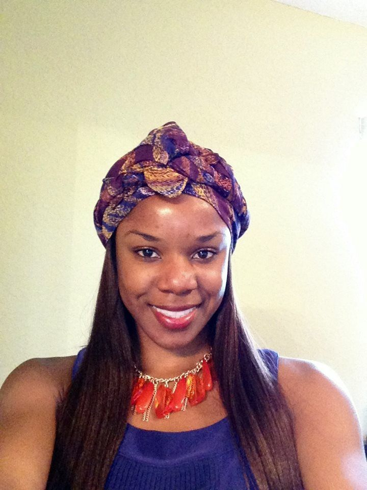 Turban Style Fashion Head Wrap For Alopecia Hair Loss