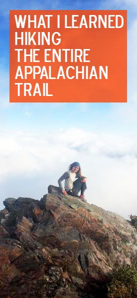 What it's like to thru-hike the Appalachian Trail. #hiking #AppalachianTrail