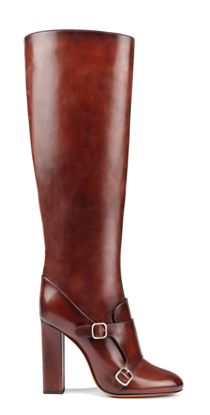 Santoni Women Boots Red Fashion Shoes Hot Sale Cheapest Price Save Over 50%