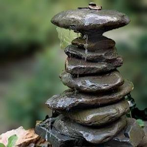 DIY Stone Fountain