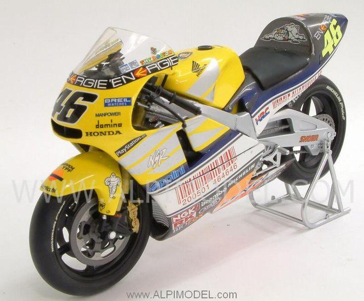 Honda NSR500 Team Nastro Azzurro 2001 World Champion Valentino Rossi - Special Edition 'Silver Box' by MINICHAMPS