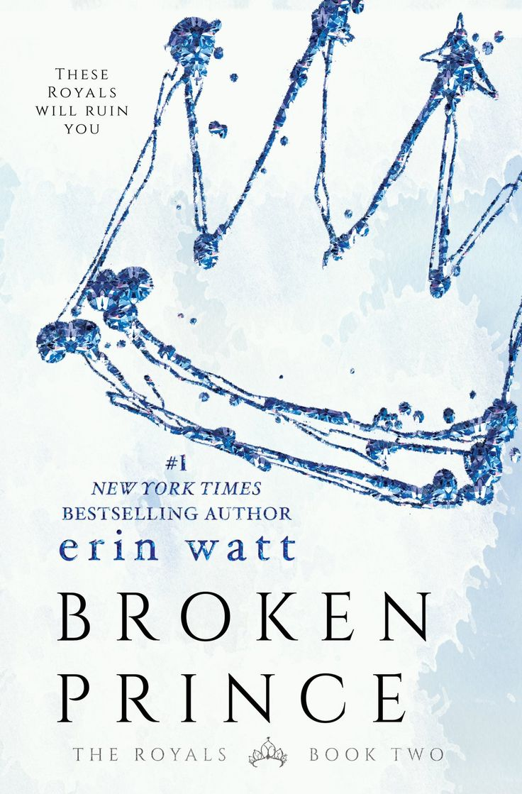 #CoverReveal: Broken Prince - Erin Watt