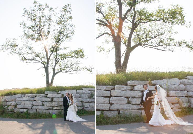 Copper Creek bride and groom