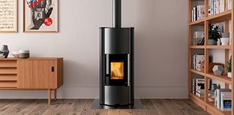 29 best po les pellets pellet stoves images on pinterest for Stufe combinate legna pellet palazzetti