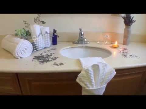 How to fold bathroom