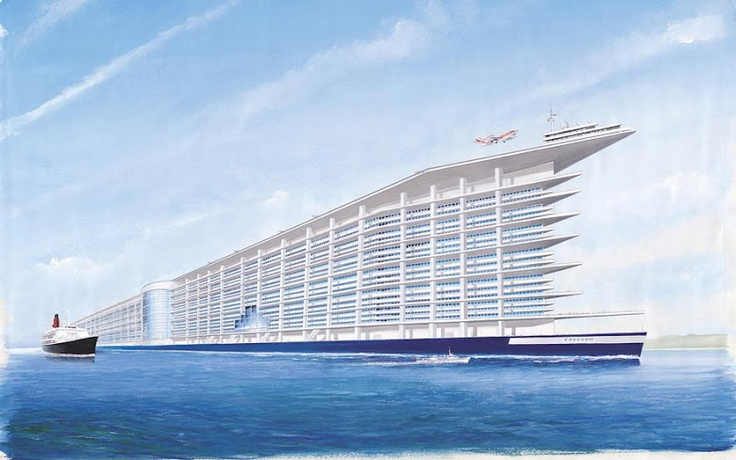 proposed super cruise ship boats   big amp little
