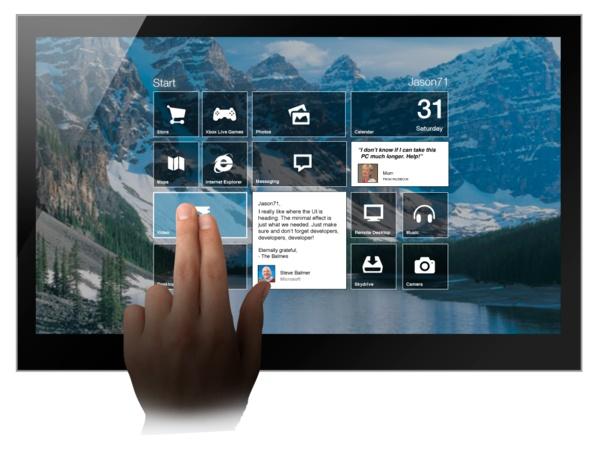 Windows 8   Metro UI Remix by Jason71 , via Behance