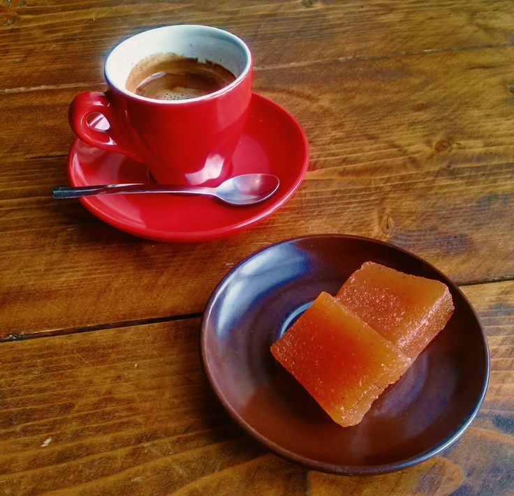 coffee & Quince cheese