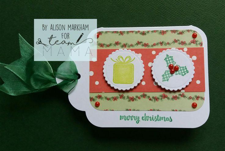 Mama Makes Cosy Christmas stamps