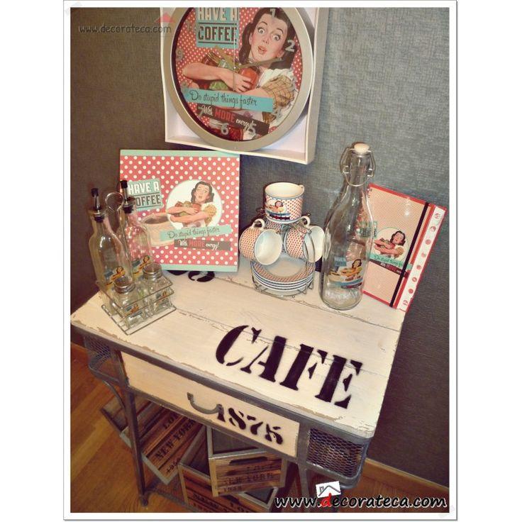 Colecci n accesorios de cocina pin up decoraci n vintage - Decoracion retro americana ...