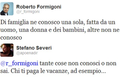 You know nothing, Formigoni