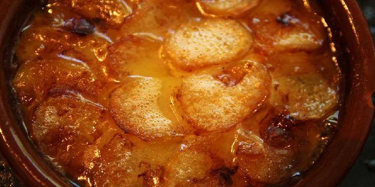 Potetform med soppsmaker/potatoes with mushroom flavours
