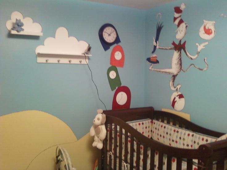 Best Images About Dr Seuss Nursery Ideas On Pinterest Cats - Dr seuss nursery wall decals