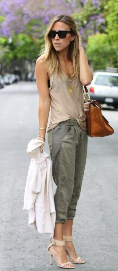 summer outfits How To Look Safari Chic