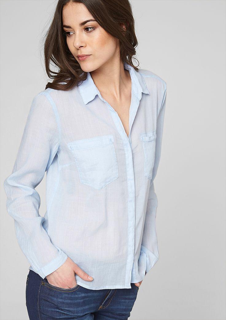 Transparente Bluse im s.Oliver Online Shop