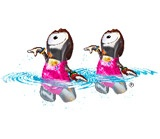 Synchronized-Swimming mascot for London 2012 Olympics